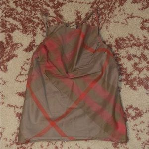 Authentic toddler Burberry top